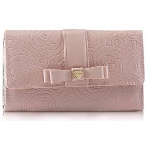 Betsey Johnson Flap-Over Bifold French Wallet